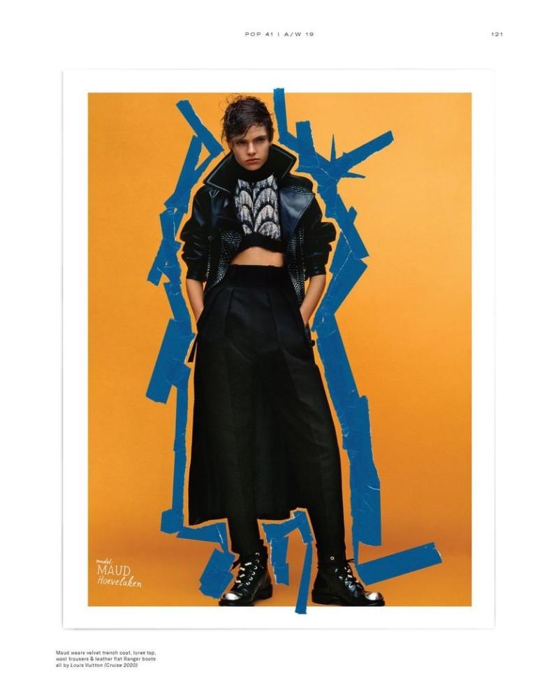 Maud Hoevelaken for Pop Magazine