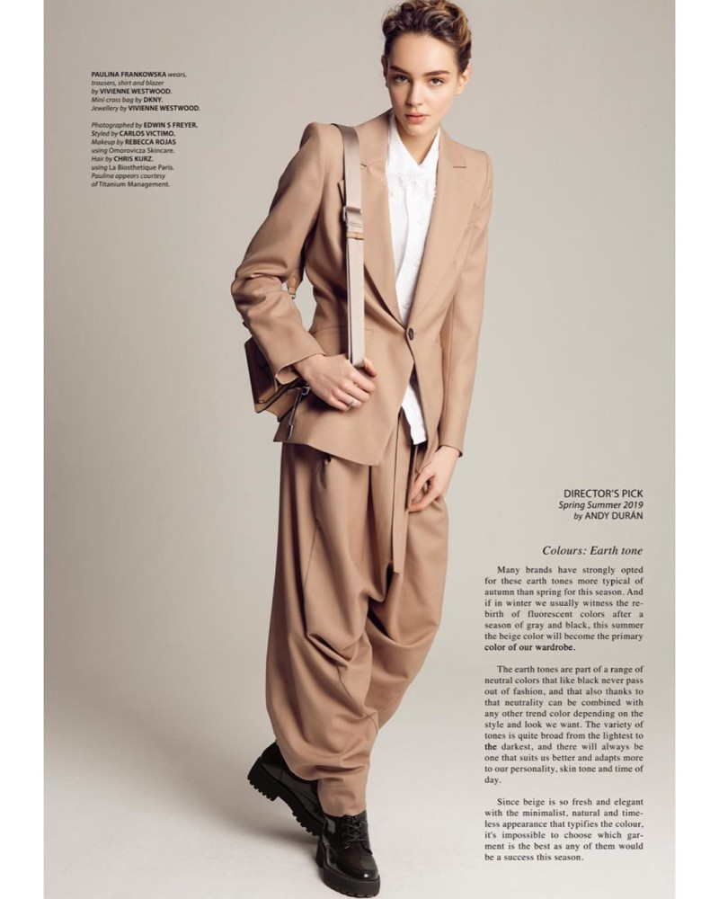 Paulina Frankowska for 5' ELEVEN'' Magazine