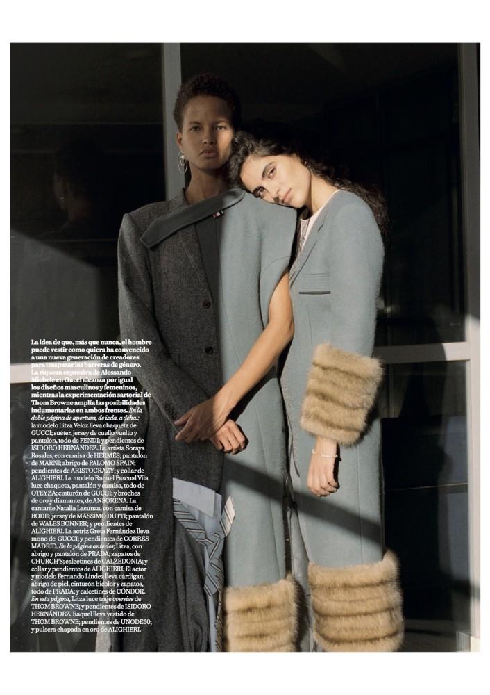 Litza for Vogue