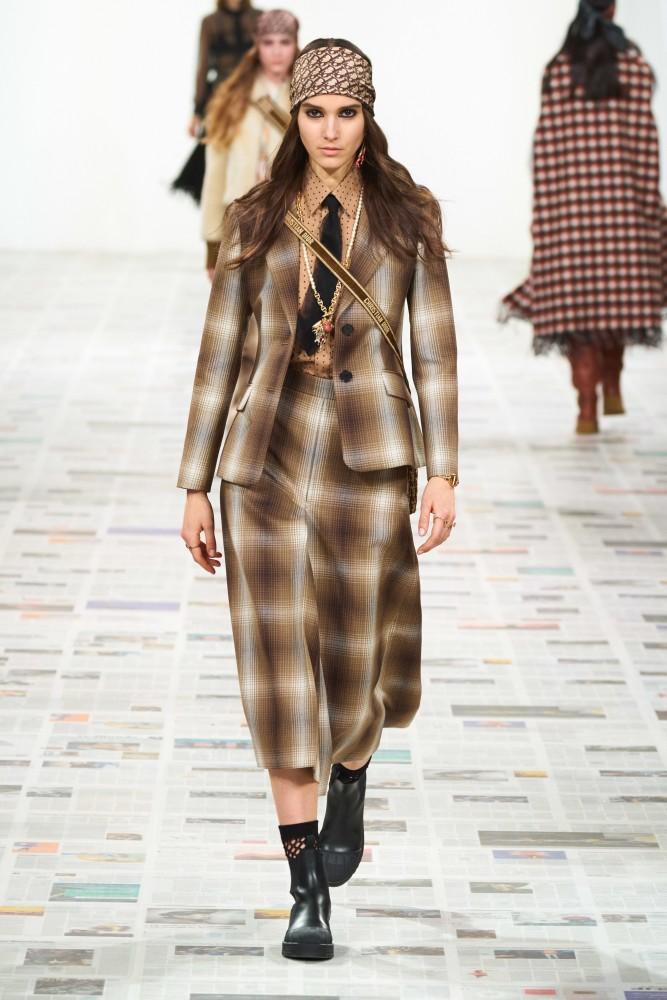Rachelle Harris for Dior F/W 20 PFW