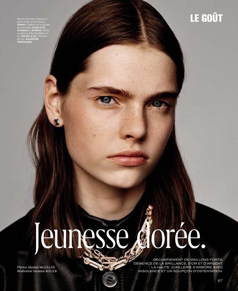 Maud Hoevelaken for M The magazine of the World