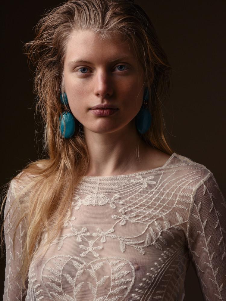 Charlotte Mequignon by Mathieu Puga