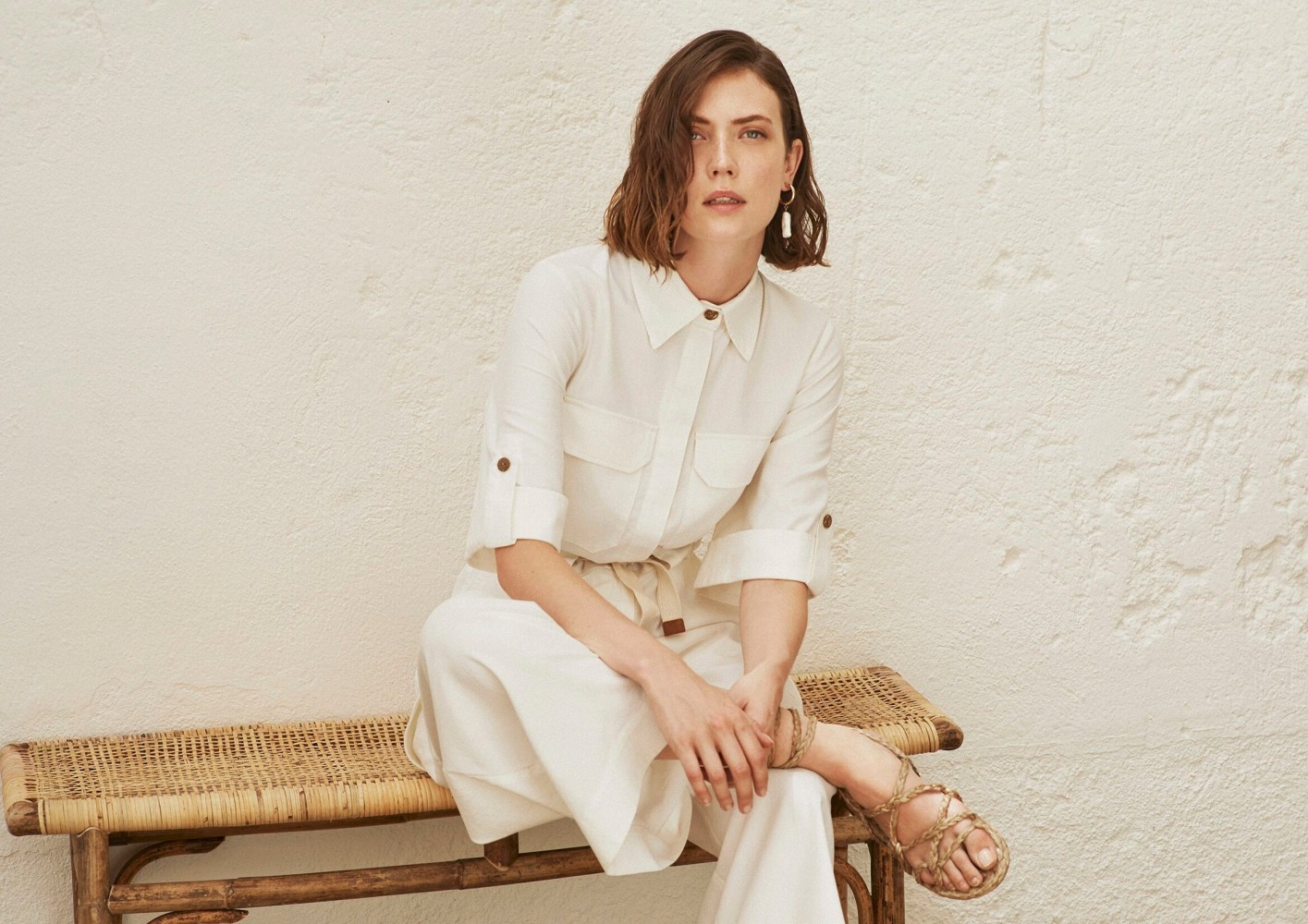 Stacey Williams for YERSE SS20