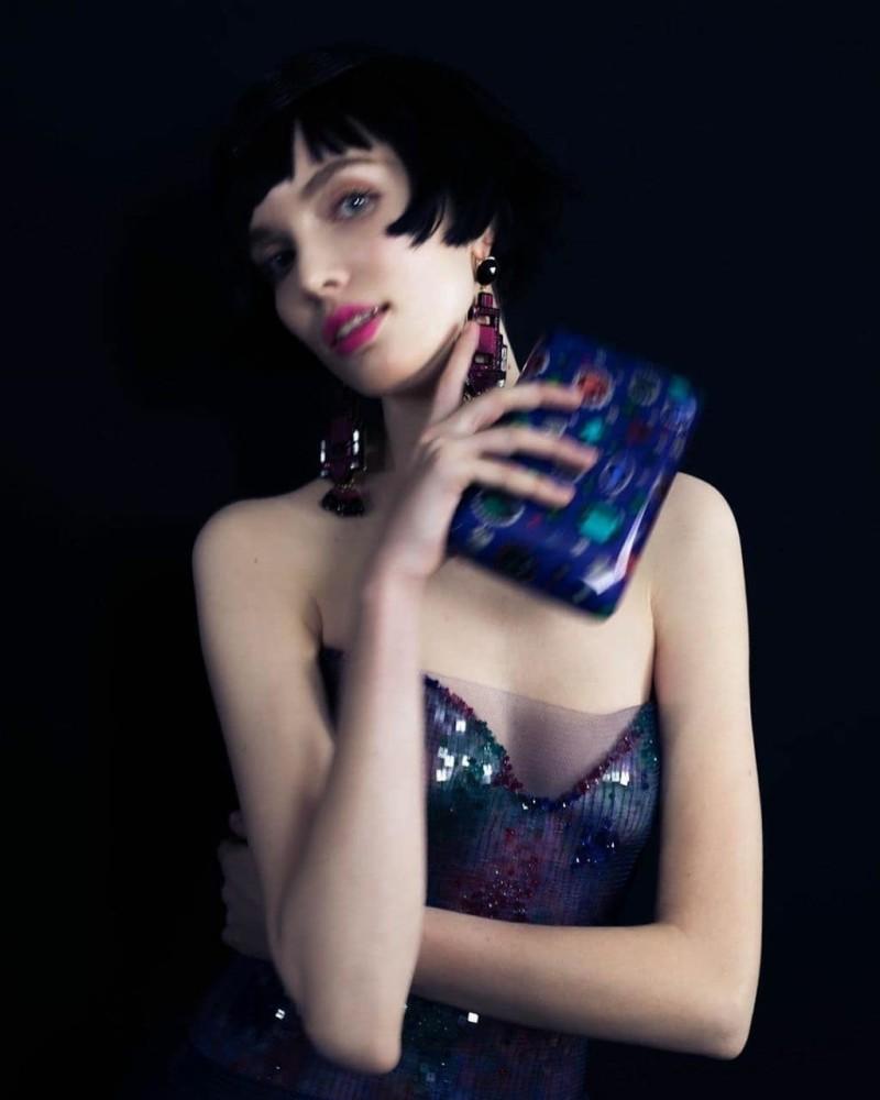 Veronika Terokhina for Armani Privé Haute Couture 2020