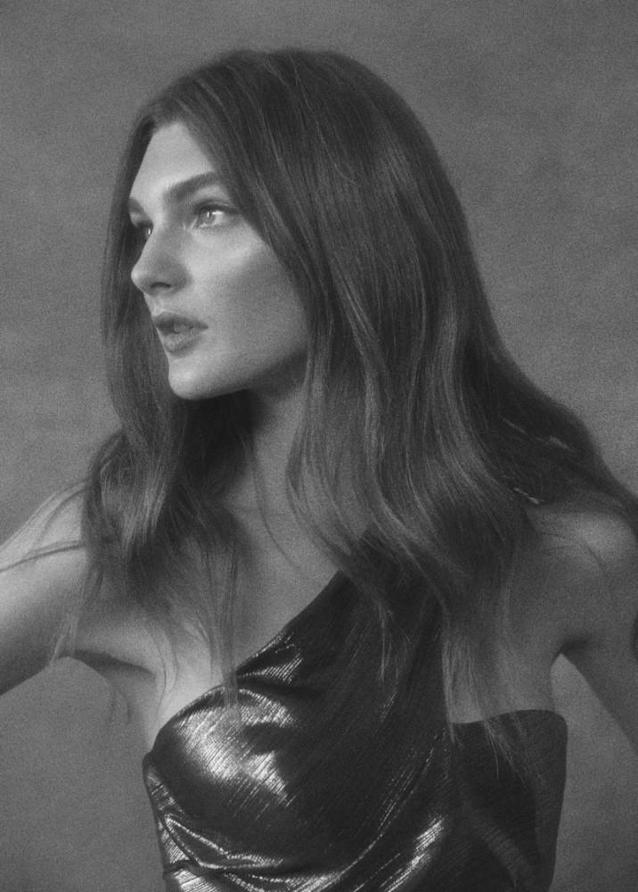 Nastya Abramova for Marchesa Notte Spring 2020