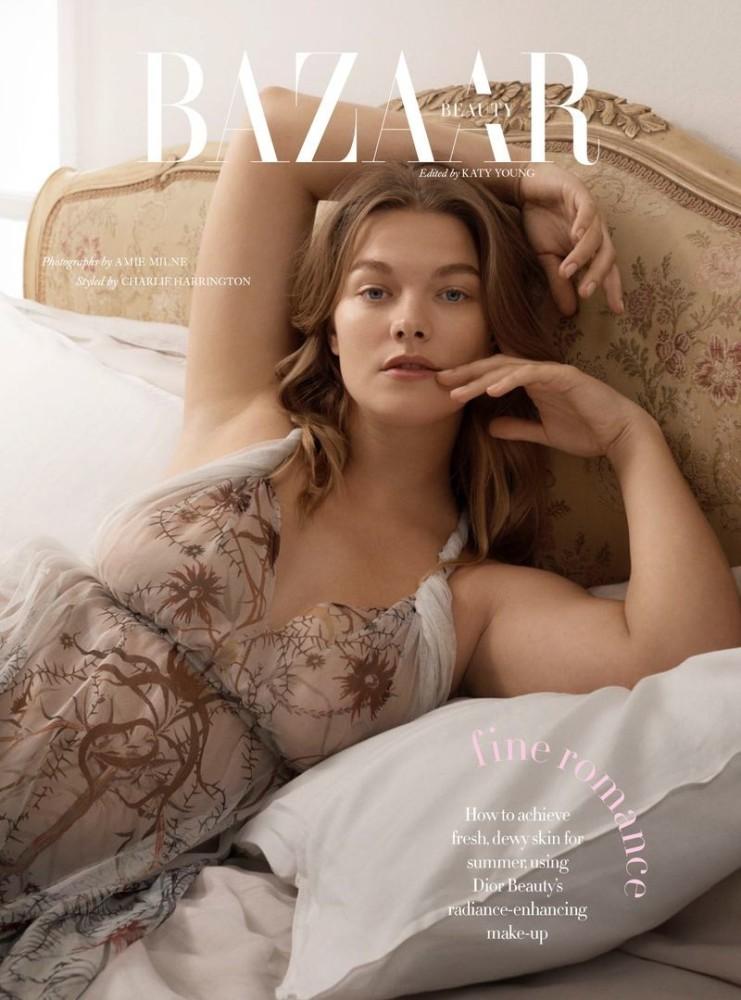Christine Sophie Johannsen for Harper's Bazaar UK, June 2020