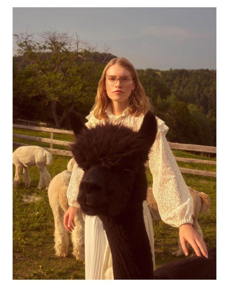 Pia Kunde for Andy Wolf Eyewaer