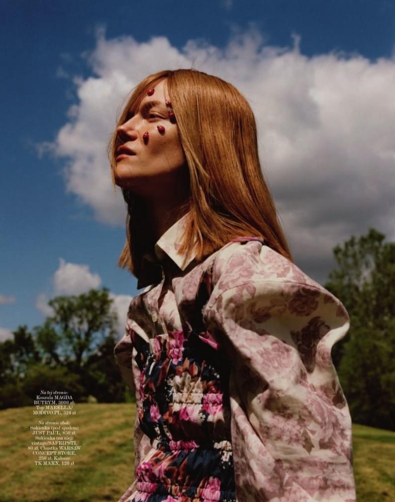 Kasia Struss for Vogue Poland
