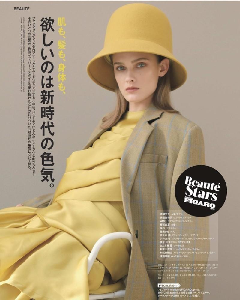 Marina Aleks for Madame Figaro Japon