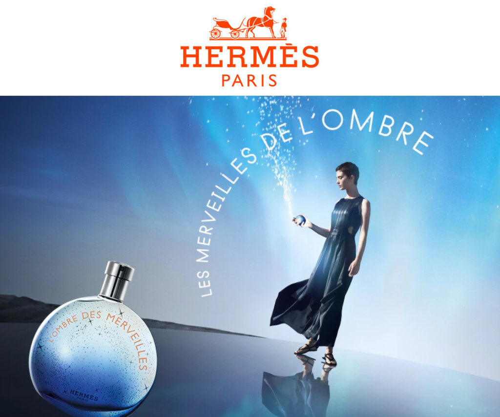 Cleo Cwiek for Hérmes Paris Fragrance Campaign