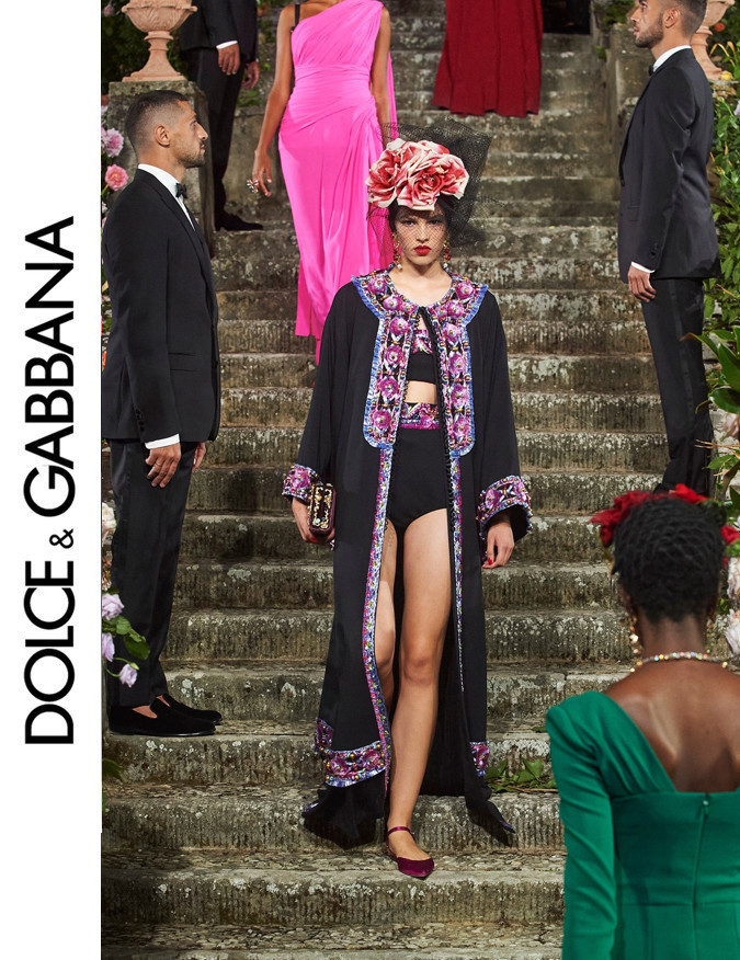 Maja Zimnoch for Dolce & Gabbana