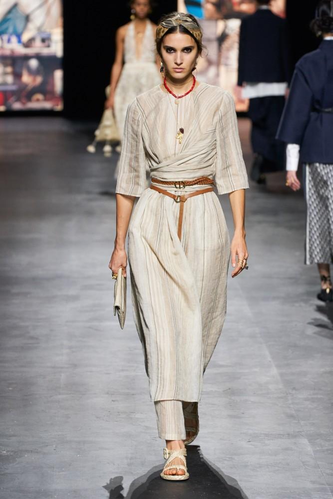 Rachelle Harris for Christian Dior SS21 PFW