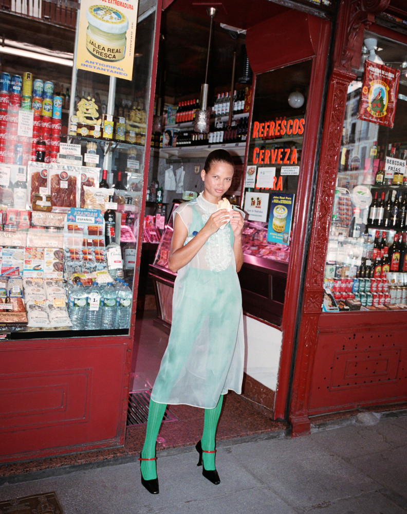Litza for Vogue Spain, September 2020