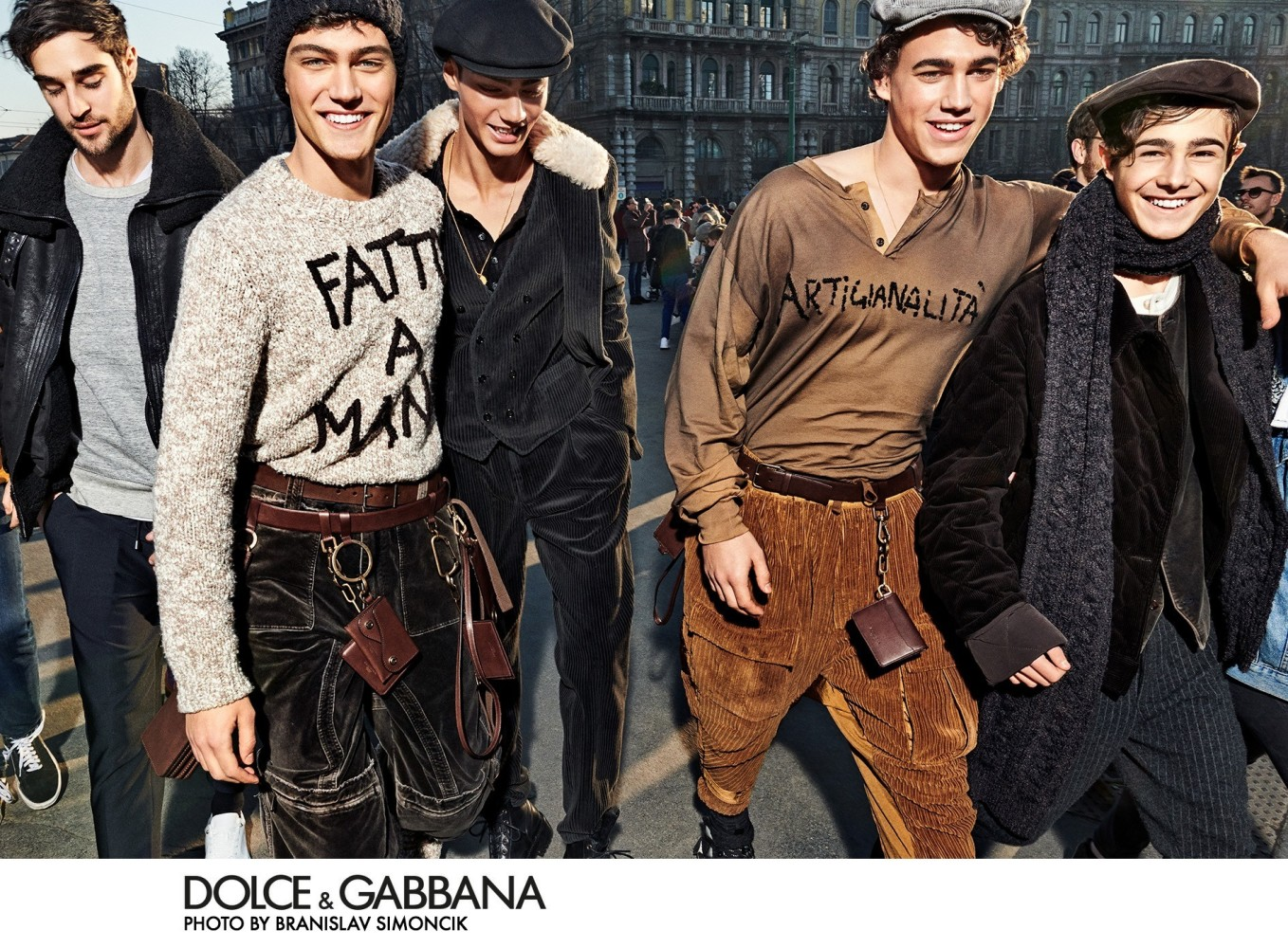 Jeff Zimbris for Dolce & Gabbana FW 20-21 Campaign