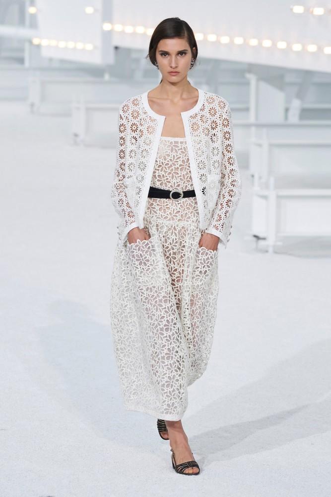 Rachelle Harris for Chanel SS21 PFW