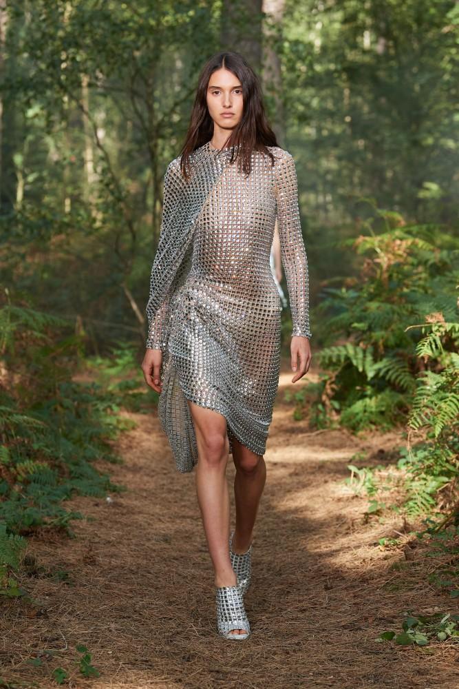 Rachelle Harris for Burberry SS21 LFW
