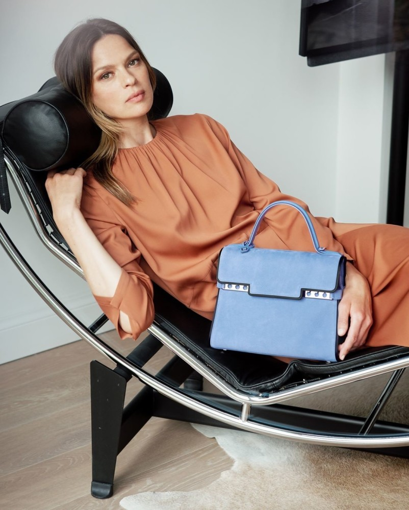 Elise Crombez for Delvaux