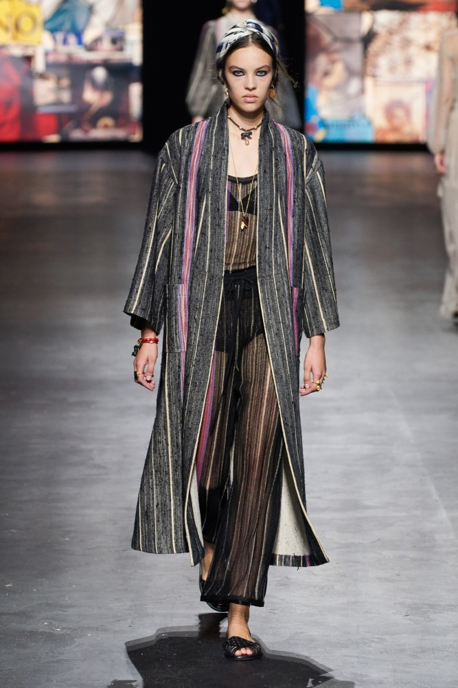 Maja Zimnoch for Christian Dior SS21 RTW