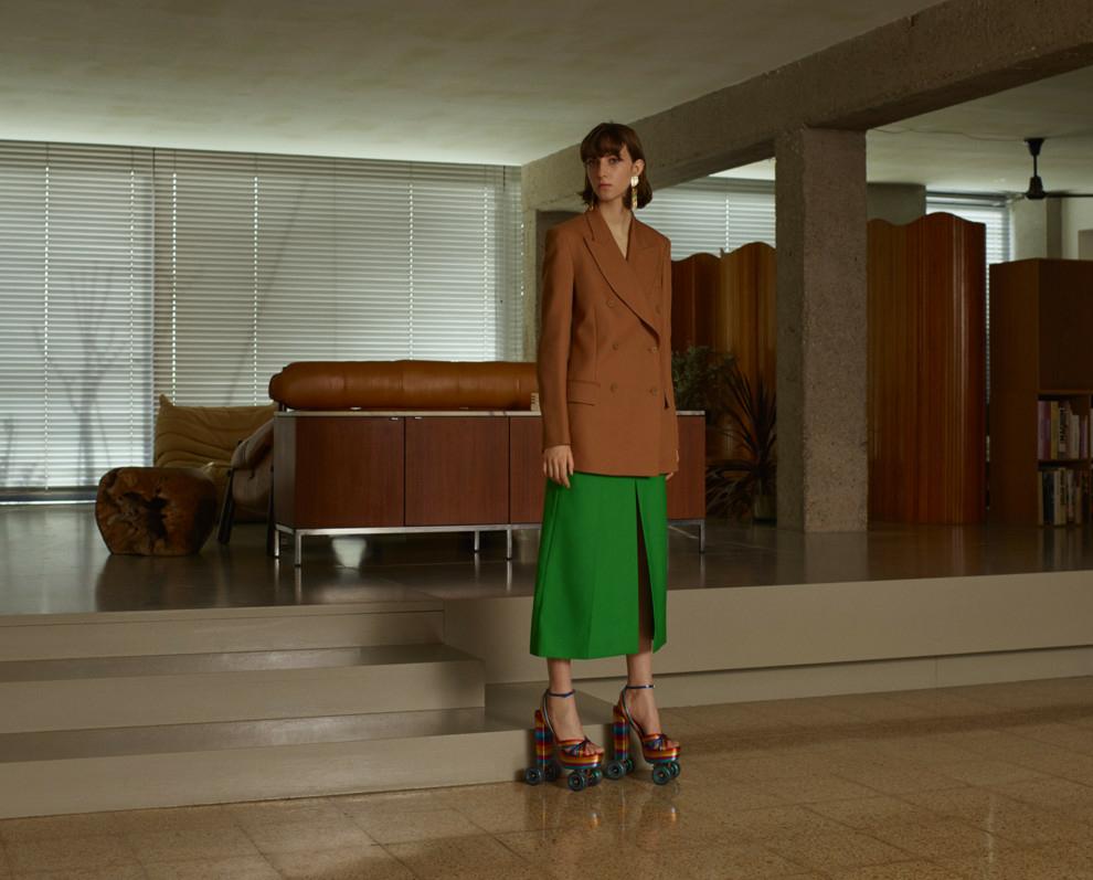Evelyn Nagy for Vogue Ukraine