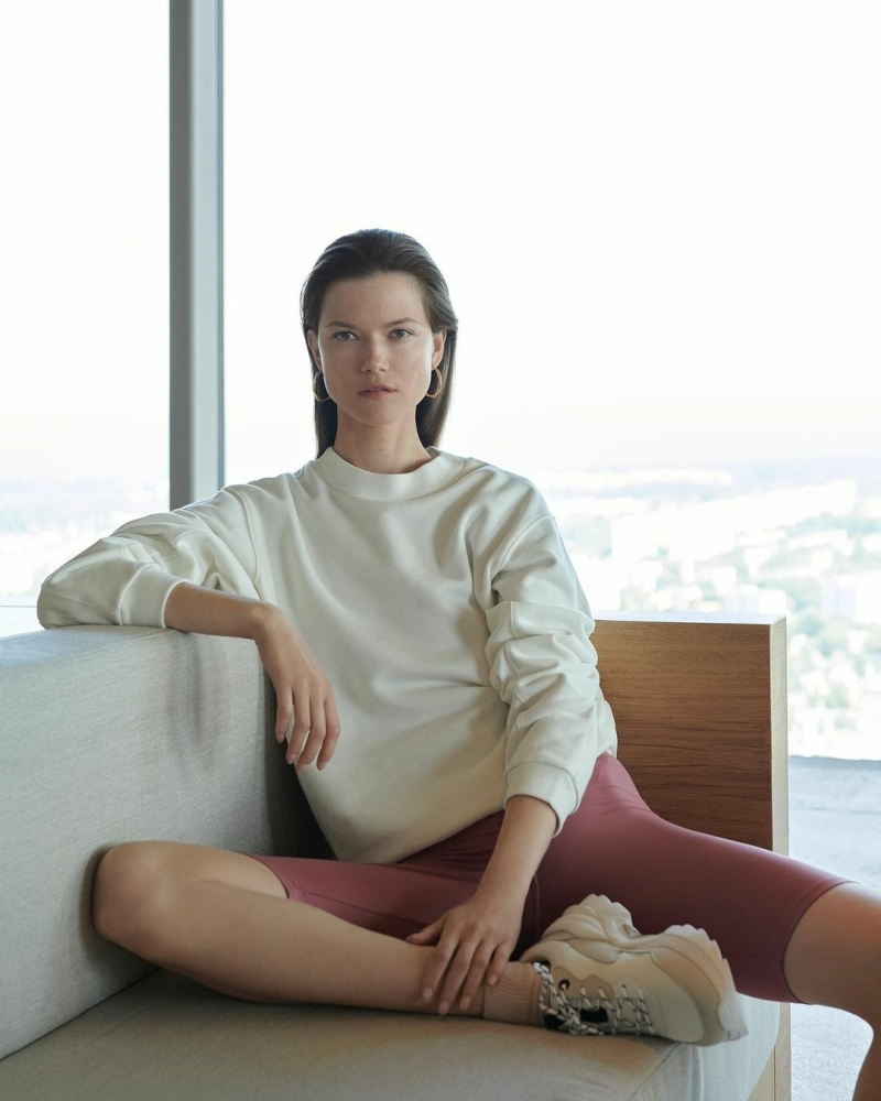 Kasia Struss for Reserved Athleisure, Fall 2020