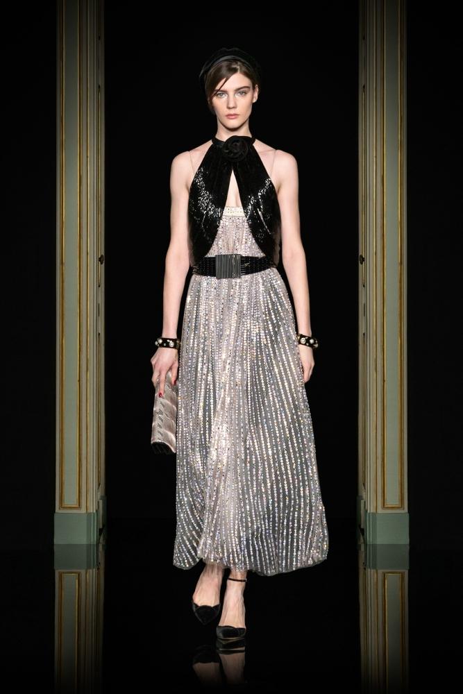 Palina Zavi for Armani Privé Haute Couture Spring 2021