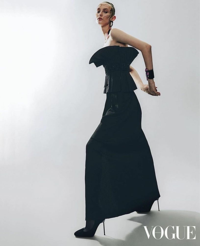 Vika Dunets for Vogue Hong Kong