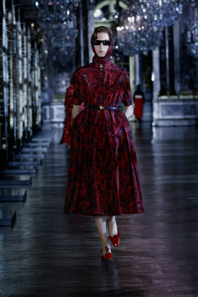Evelyn Nagy for Dior F/W 21 Show