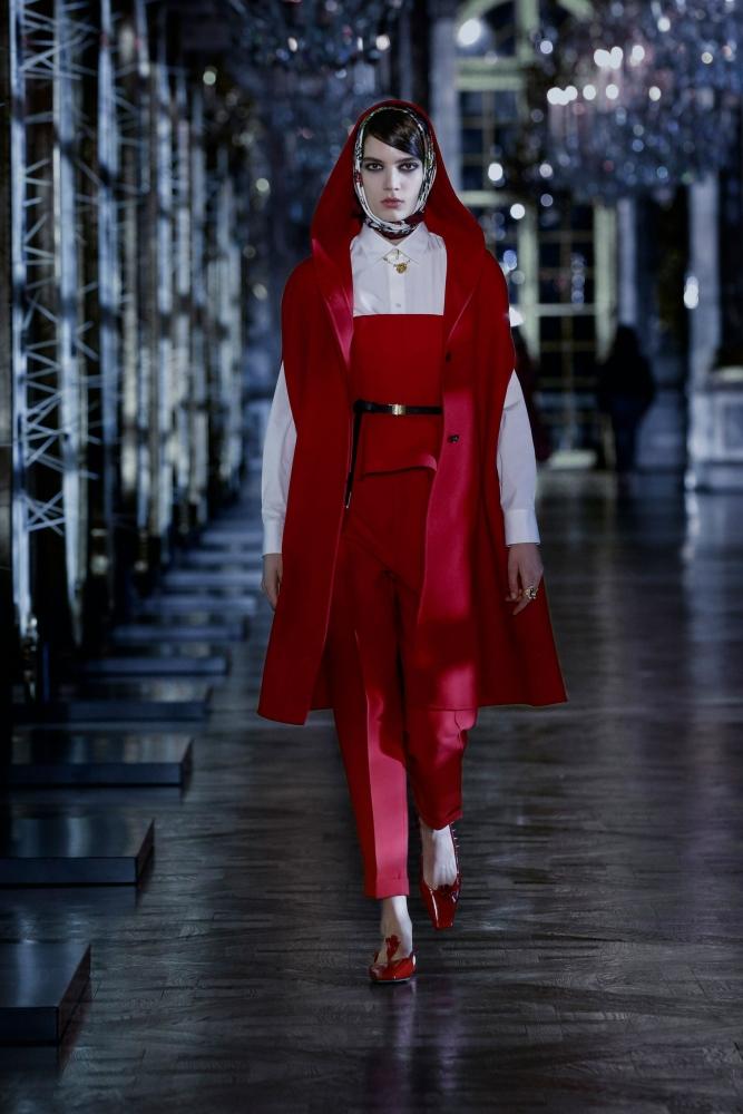 Lida Freudenreich for Dior F/W 21 Show