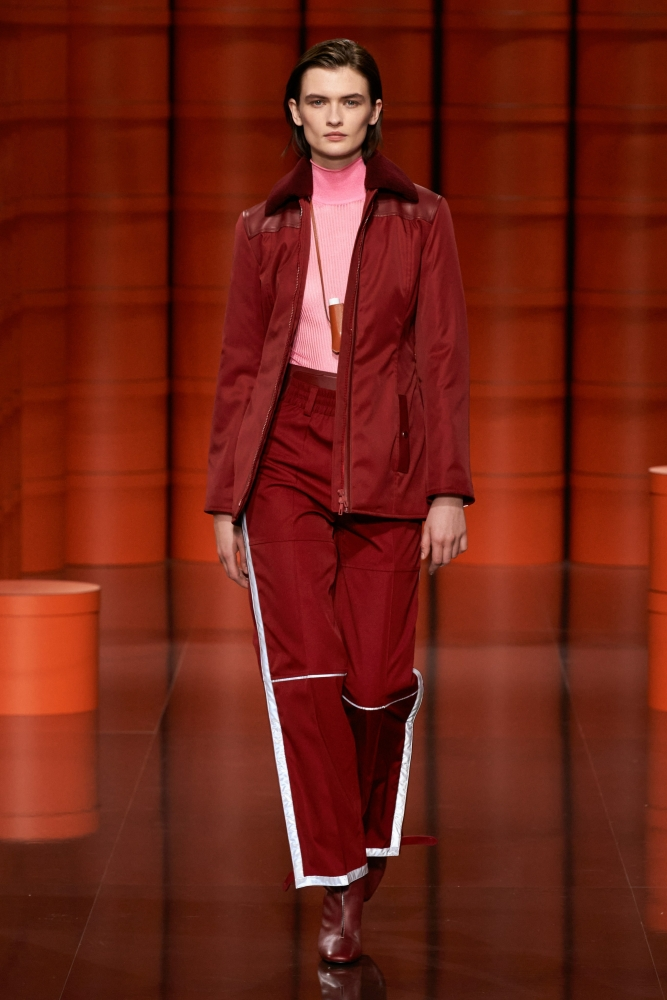Lara Mullen for Hermès Fall 2021 Ready-to-Wear Collection