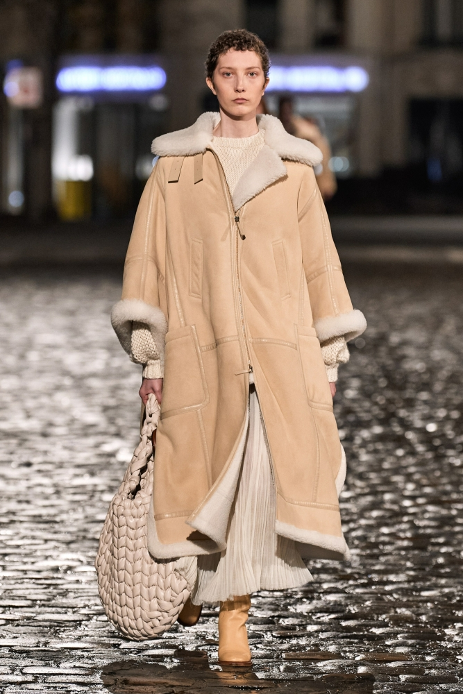 Sasha Komarova for  Chloé Fall 2021 RTW