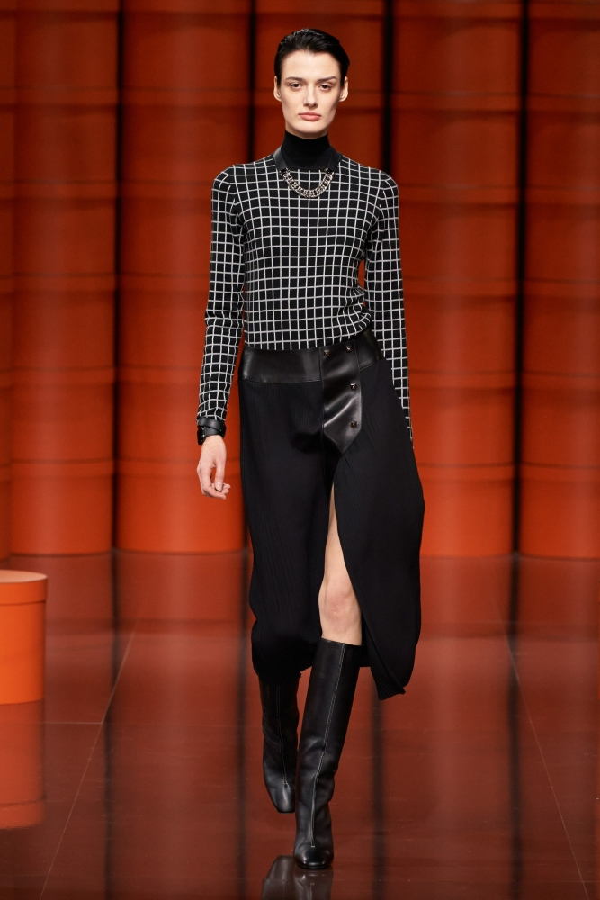 Marfa Zoe Manakh for Hermès Fall 2021 RTW