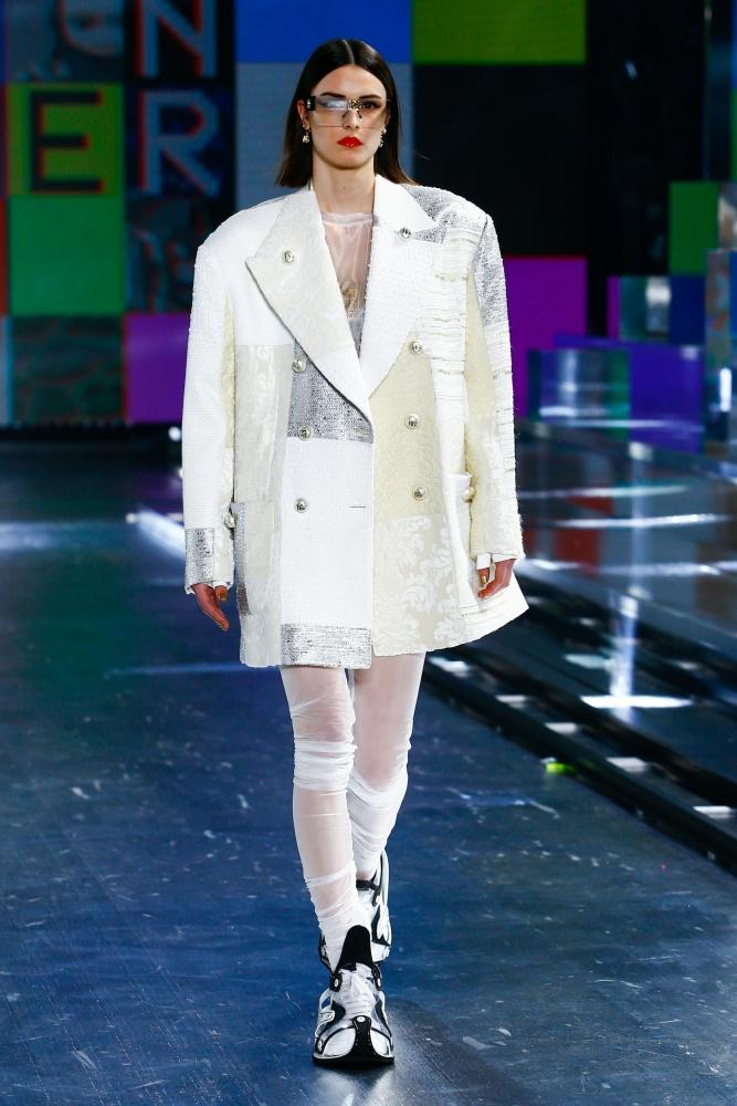 Hana Grizelj for Dolce & Gabbana Fall 2021 RTW