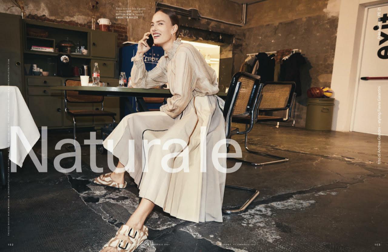 Ania Kisiel for IO Donna Magazine