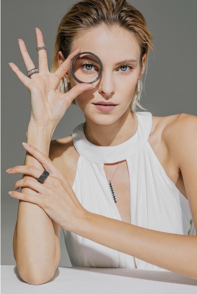 Masha Zaitseva for Serafino Consoli Jewelry