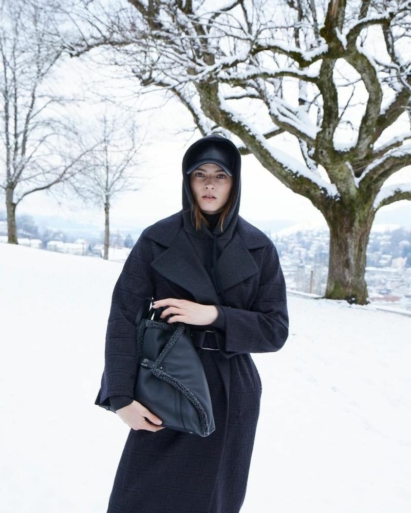 Manon Raxach for Akris Fall-Winter 2021 Film