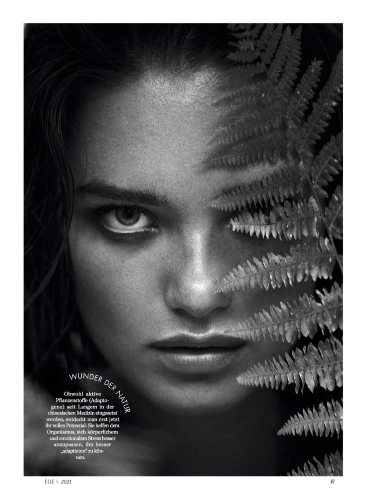 Myrtille Revemont for ELLE Magazine