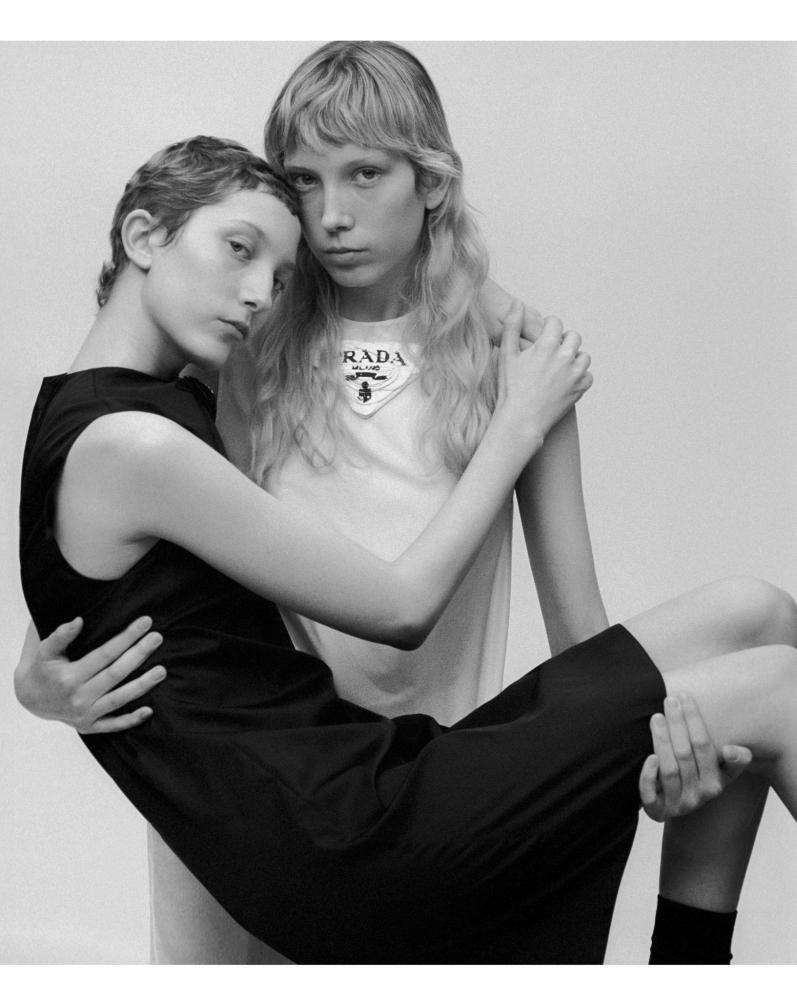 Sasha Komarova for Vogue Russia, April 2021