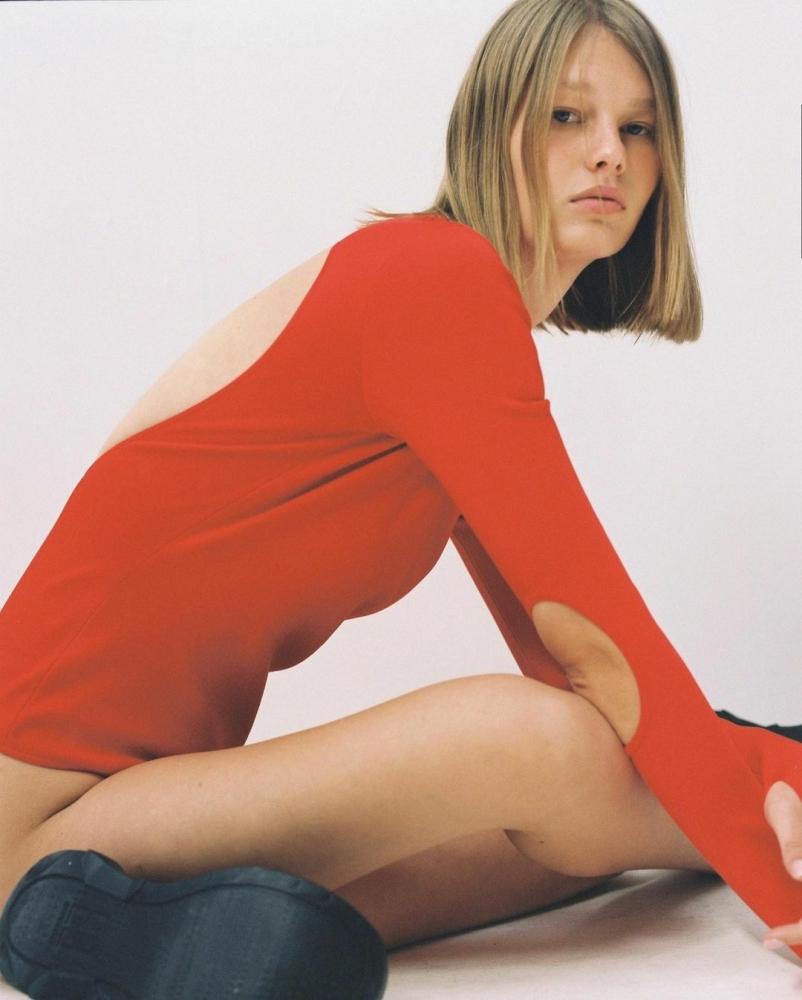 Sofia Mechetner for Vogue Ukraine, February 2021