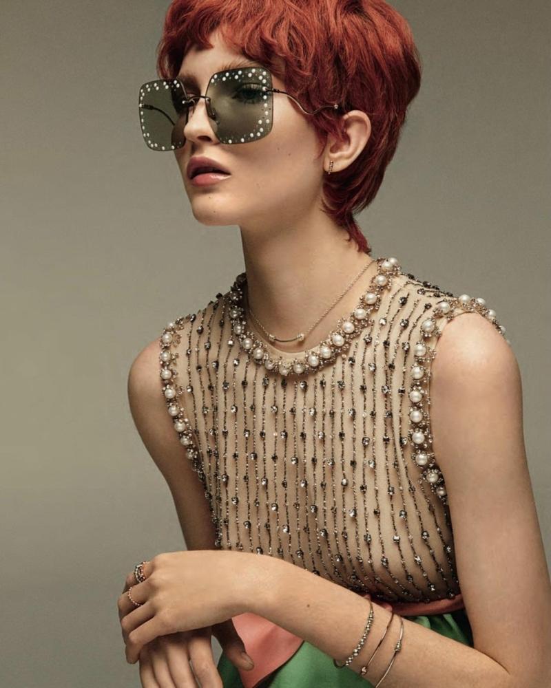 Polina Ivochkina for Vanity Fair Italia