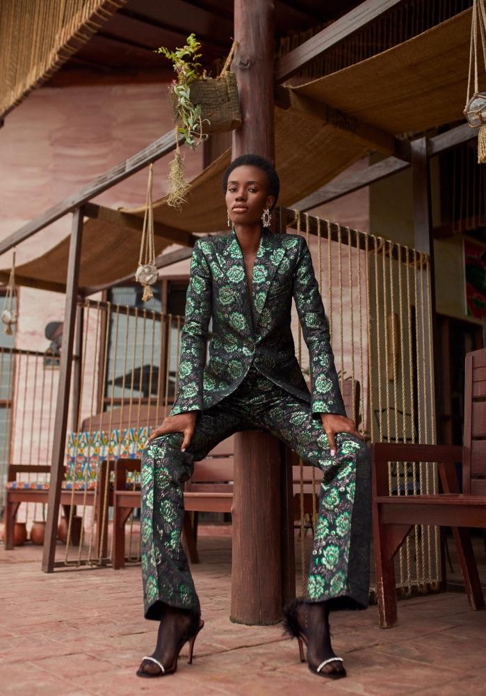 Thelma Azasoo for Vogue Netherlands, June 2021