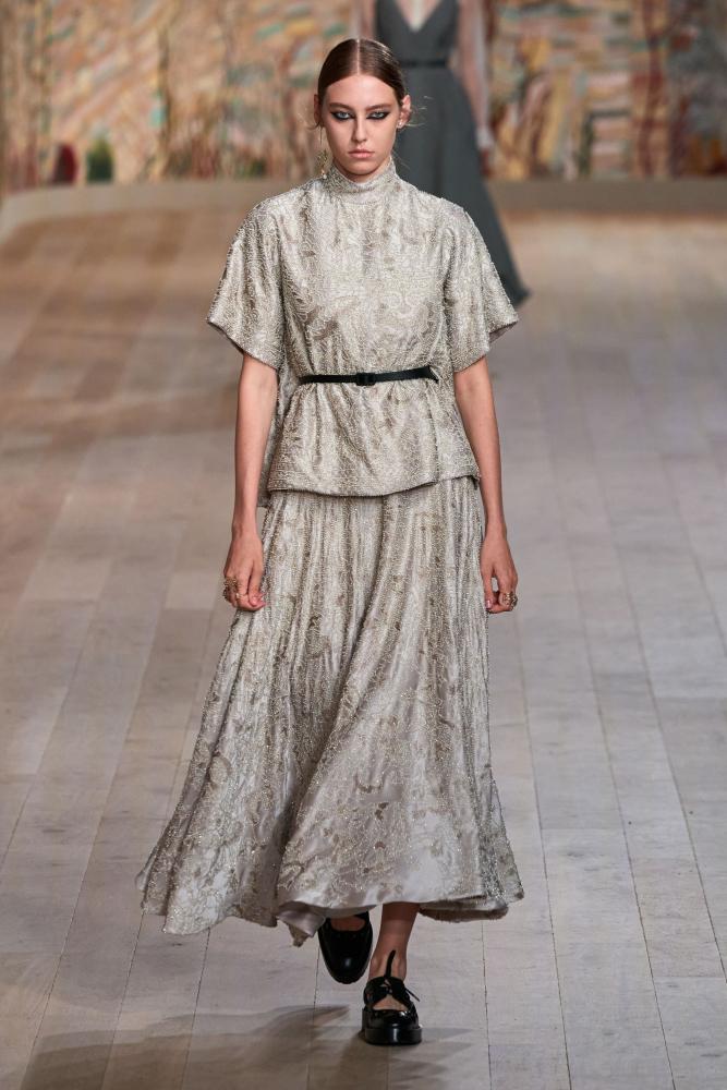 Sia Vlasova for Dior Haute Couture Fall 2021