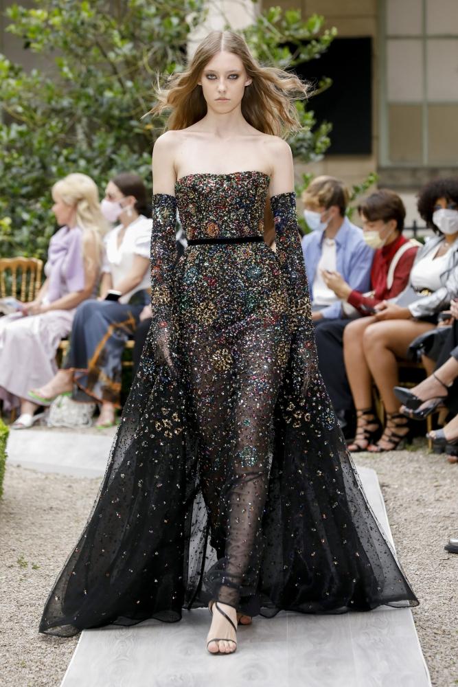 Sia Vlasova for Zuhair Murad Haute Couture Fall 2021