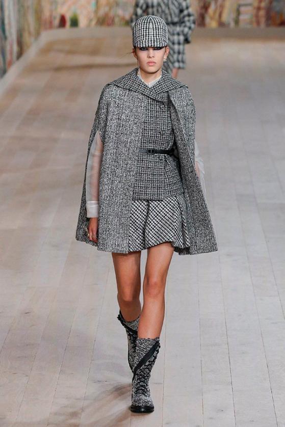 Maja Zimnoch for Dior Haute Couture Fall 2021