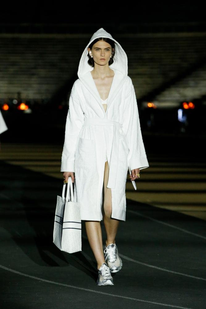 Lara Mullen for Dior Resort 2022 Show Athens