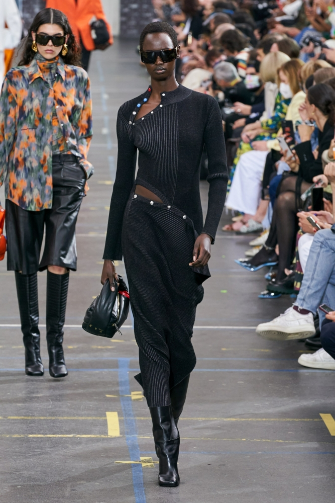 Nyarach Abouch Ayuel for Off-White F/W 21 Show