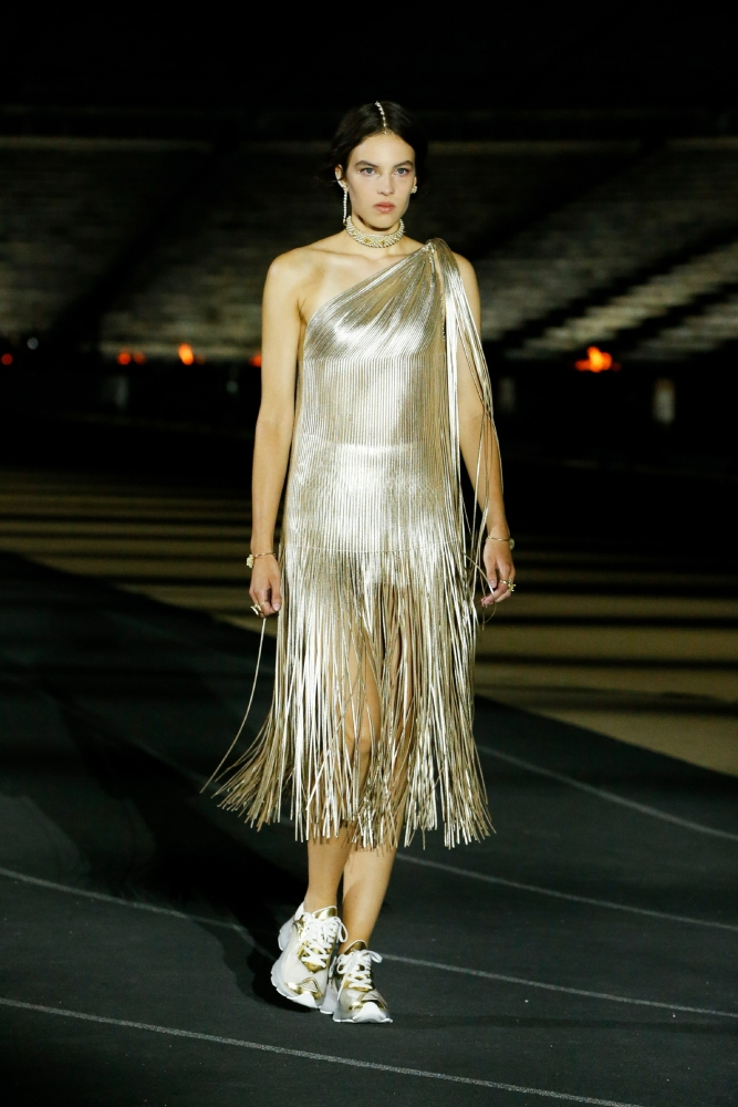 Maja Zimnoch for Dior Resort 2022 Show Athens