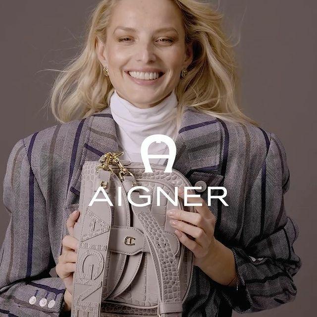 Michaela Kocianova for Aigner Campaign