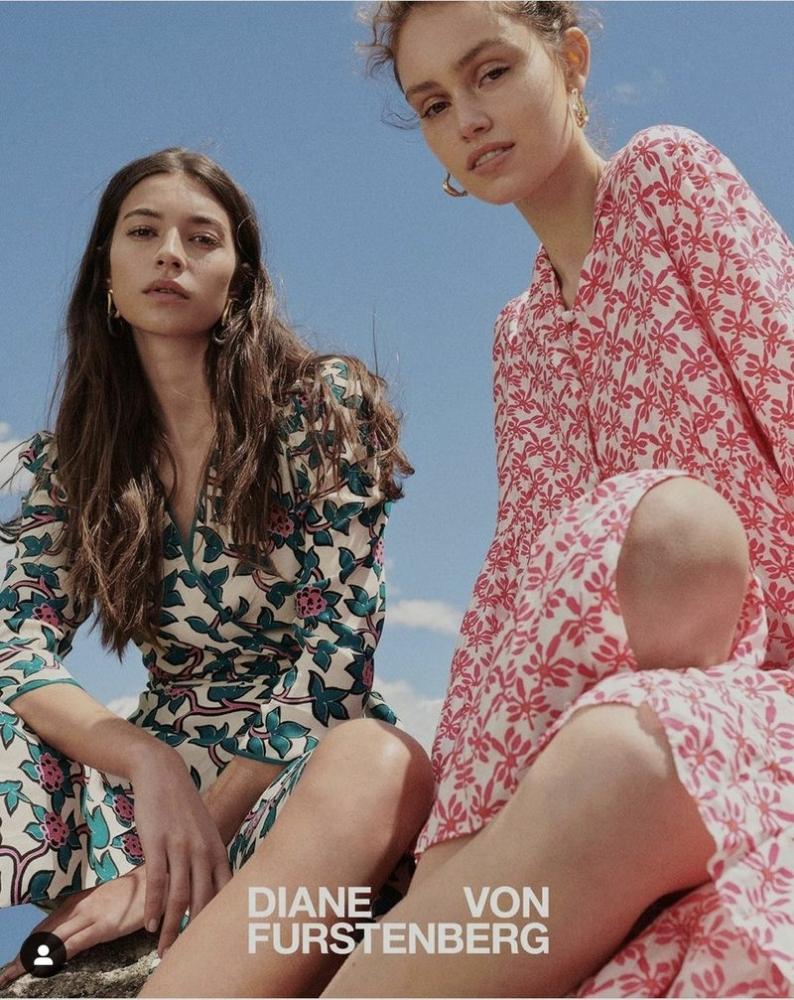 Rocio Crusset for Diane von Furstenberg SS2021 Campaign