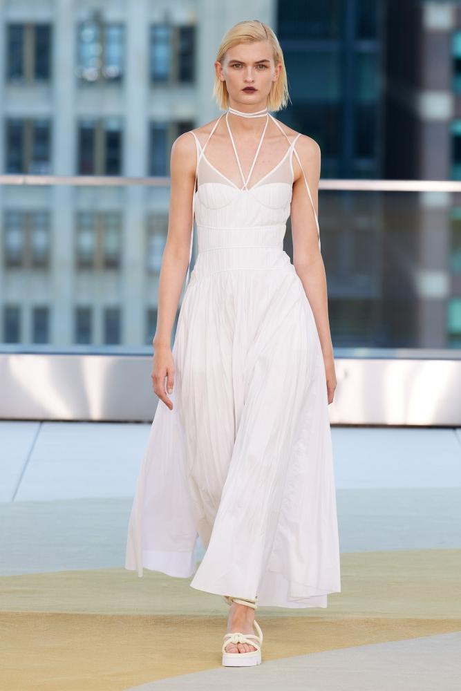 Lara Mullen for Jonathan Simkhai Spring 2022 RTW New York
