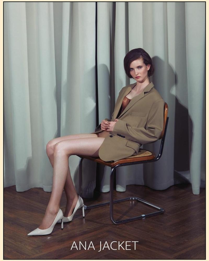 Polina Ivochkina for Ana Jacket Campaign